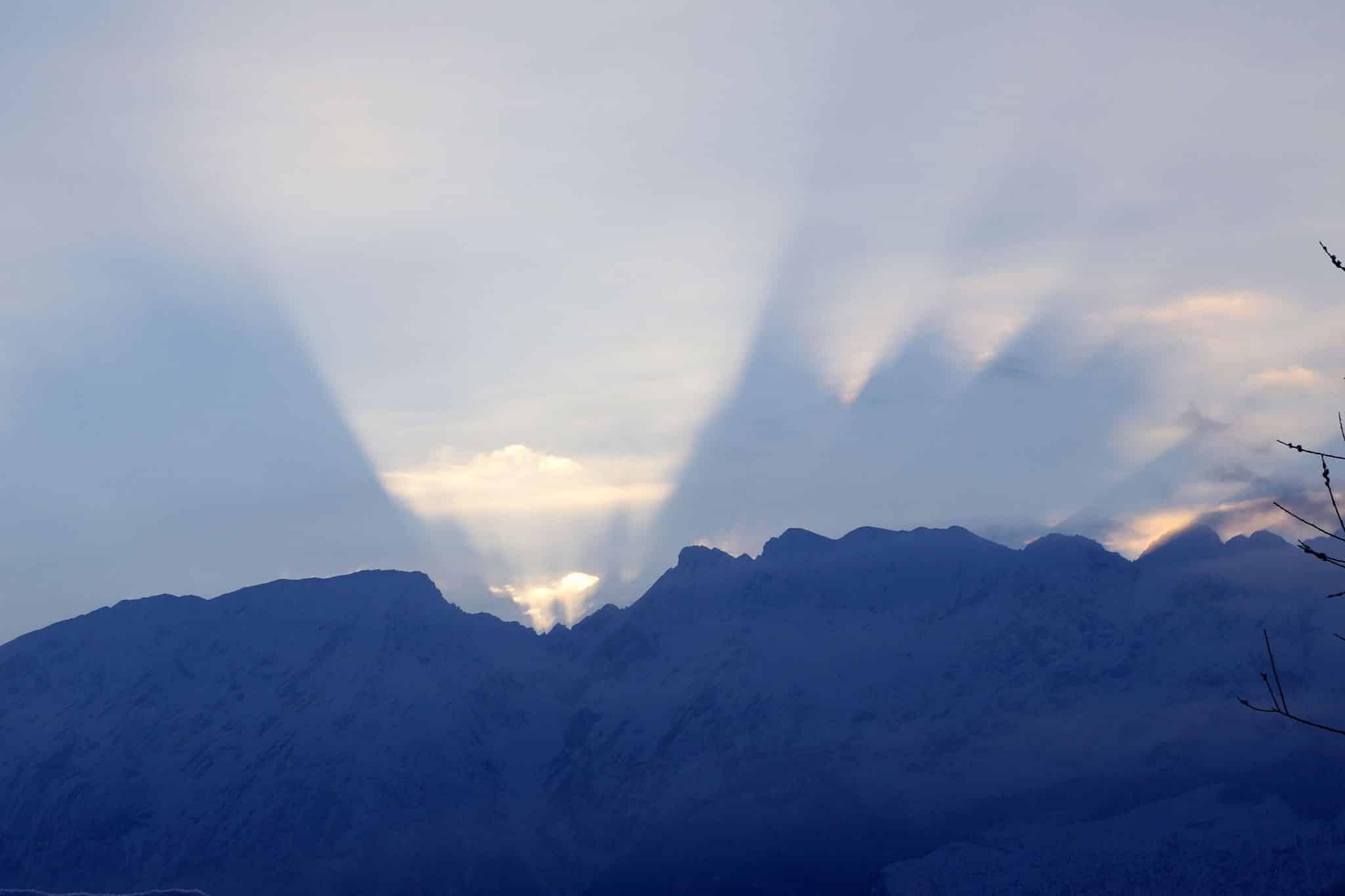 Dem Grimming wachsen manchmal Engels-Flügel - Blick von Sonnenalm, Bad Mitterndorf