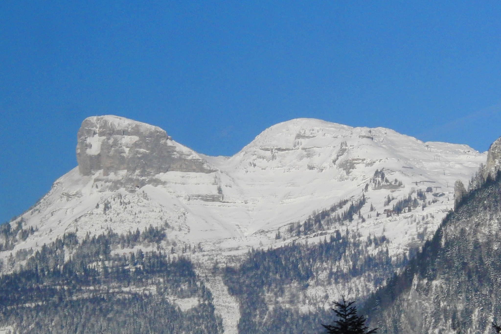 Der Loser ist auch ein beeindruckender Berg - Blick von Lebzelterei Bad Aussee